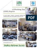 Hand Washing Day Report