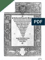 Libro de Las Maravillas Del Famoso Marco Polo, Veneciano, Facsimil 1529