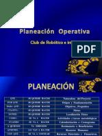 Planeación  Operativa