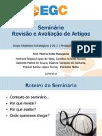 Seminário Produção de Artigos Acadêmicos [23.08.2012]