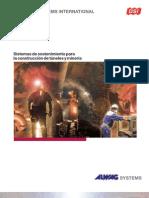 DSI ALWAG Systems Sistemas de Sostenimiento Para La Construccion de Tuneles y Minerias s