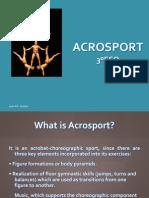 Acrosport 3ºESO