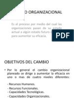 Cambio Organizacional 1