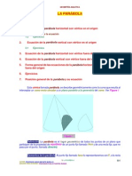 00021 Geometria Geometria Analitica La Parabola