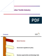 indean textile industry