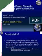 Keynote Sensys 11-7-2012