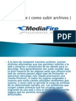 Mediafire ( Como Subir Archivos )