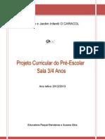 Projeto Curricular Sala B