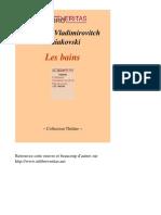 Les Bains - Maiakovski