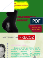 maternidad precoz