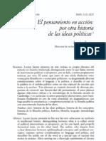 Jaume. El Pensamiento en Accion, Por Otra Historia de Las Ideas