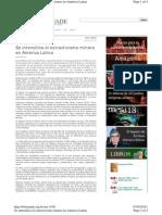 Bolivia Andino Se Expande Extractivismo Feb11