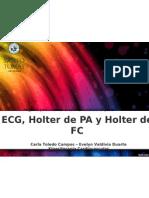 ECG - HOLTER PA Y FC