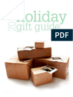 Holiday Gift Guide - 2012