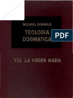 Teología Dogmática - SCHMAUS - 08 - La Virgen Maria - OCR