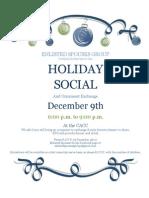 ESG Holiday Social - December 9, 2012