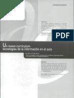 Un Nuevo Curriculum Tecnologías de La Información en El Aula