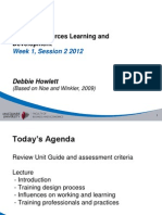 Human Resources Management  - 1