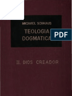 Teología Dogmática - SCHMAUS - 02 - Dios Creador - OCR