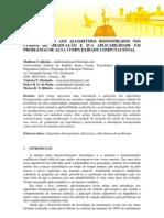 INTRODUÇÃO AOS ALGORITMOS BIOINSPIRADOS NOS CURSOS DE GRADUAÇÃO E SUA APLICABILIDADE EM PROBLEMAS DE ALTA COMPLEXIDADE COMPUTACIONAL