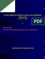 Curso Nacional de Saneamiento Fisico Legal de Predios Urbanos Ley 27157 y 27333 Colegio de Arquitectos Del Peru - Dias 16, 17, 18, 19 de Julio Del 2012_3
