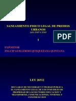 Curso Nacional de Saneamiento Fisico Legal de Predios Urbanos Ley 27157 y 27333 Colegio de Arquitectos Del Peru - Dias 16, 17, 18, 19 de Julio Del 2012_9