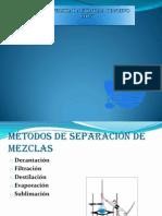 Separacion de Mezclas