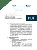 Plan Anual de Actividades Academicas 2011 - Director de Catedra- Redes