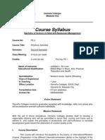 International Cuisine Revised Syllabus