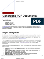 Generating PDF Documents-Part1