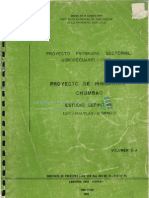 Proyecto de Irrigacion-Chumbao-Estudio Definitivo