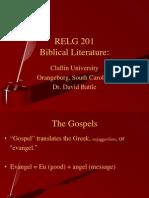 Biblical Literature Lecture 9