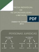 Derecho Comercial Diapositiva de EIRL