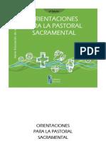 Pastoral Sacramental Chile