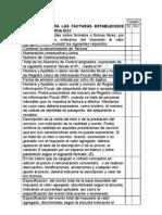 Requisitos de Factura Según Providencia 257