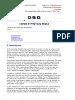 6 Basic Statistical Tools