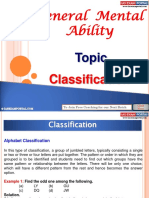 General Mental Ability Classification