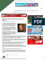 17-11-12 Nayaritenlinea - Roberto Sandoval Rinde Su Primer Informe de Gobierno