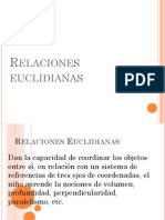 Relaciones euclidianas