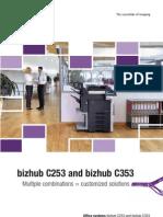 Bizhub C253 C353 Brochure