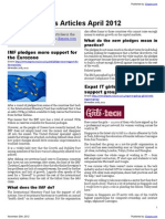 Financial News Articles April 2012