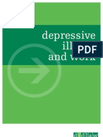 Depressive Illness and Work