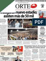 Periodico Norte de Ciudad Juárez 20 de Noviembre de 2012