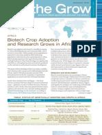 On the Grow November 2012 - Africa