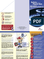 PIPED GAS - Safety