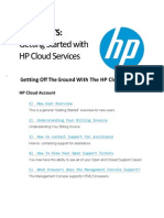 Quick Hits - Getting Started With HP Cloud