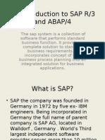 An Introduction to SAP _ABAP