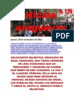 Noticias Uruguayas Martes 20 de Noviembre Del 2012