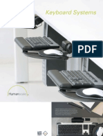 Humanscale Keyboard System Brochure