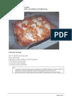 Σπιτική πίτσα με ζύμη στο χέρι